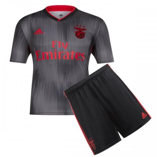 Benfica Away Kids Football Kit 19 20