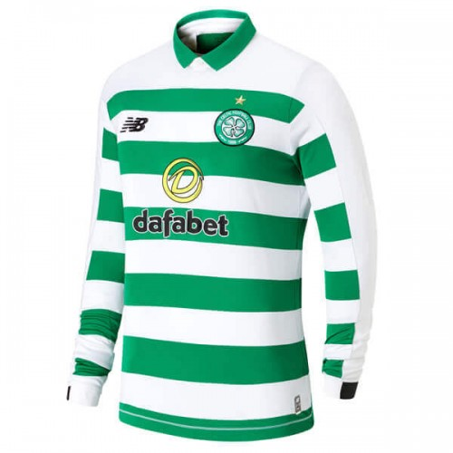 Celtic Home Long Sleeve Football Shirt 1920
