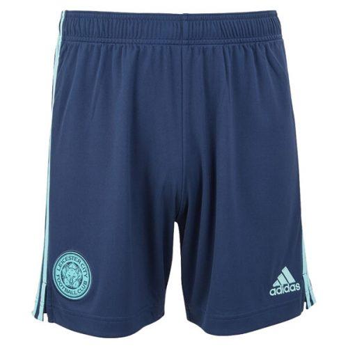 Leicester City Away Football Shorts 21 22