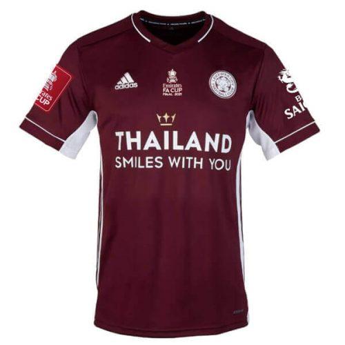 Leicester City FA Cup Final Football Shirt 2021