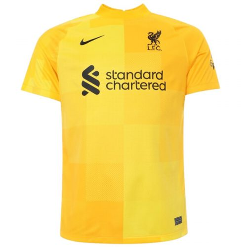 Liverpool Away Goalkeeper Football Shirt 21 22