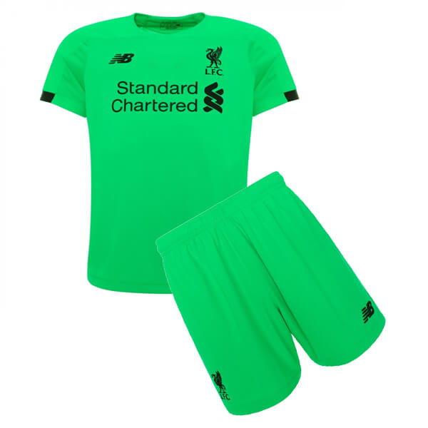 Liverpool Away Kids Goalkeeper Kit 19 20