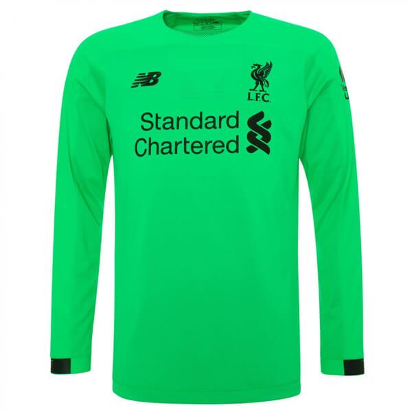 sports shoes c3d44 56da7 Liverpool Away Long Sleeve Goalkeeper Football Shirt 19/20
