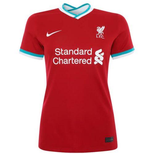 Liverpool Home Womens Football Shirt 20 21