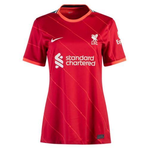 Liverpool Home Womens Football Shirt 21 22