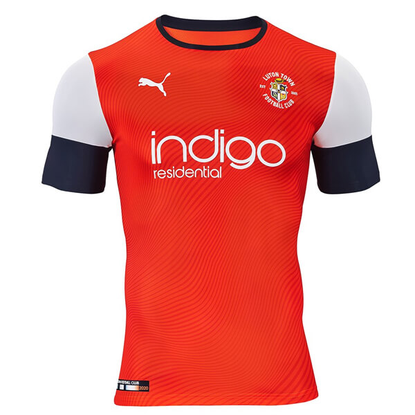 Luton Town Home Football Shirt 19 20