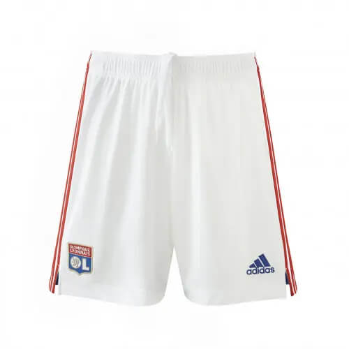 Olympique Lyon Home Football Shorts 21 22