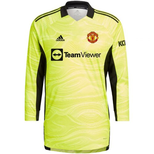 Manchester United Home Goalkeeper Shirt 21 22