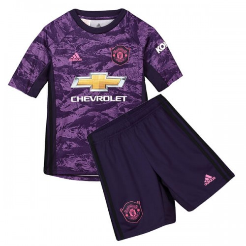 Manchester United Home Goalkeepers Kids Kit 19 20