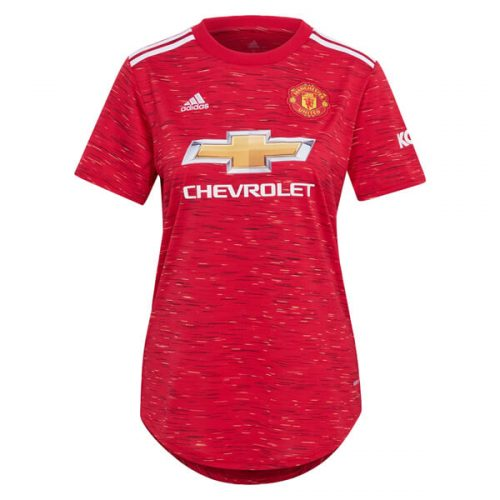 Manchester United Home Womens Football Shirt 20 21