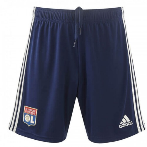 Olympique Lyon Away Soccer Shorts 19 20