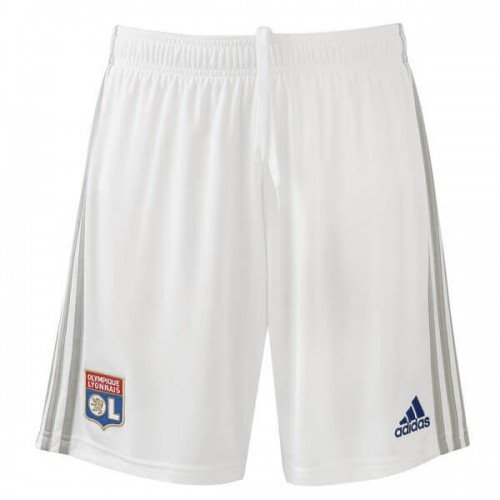 Olympique Lyon Home Soccer Shorts 19 20