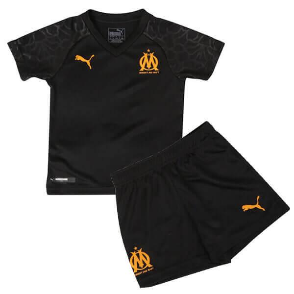 superior quality 1745e a2df6 Olympique Marseille Third Kids Football Kit 19/20