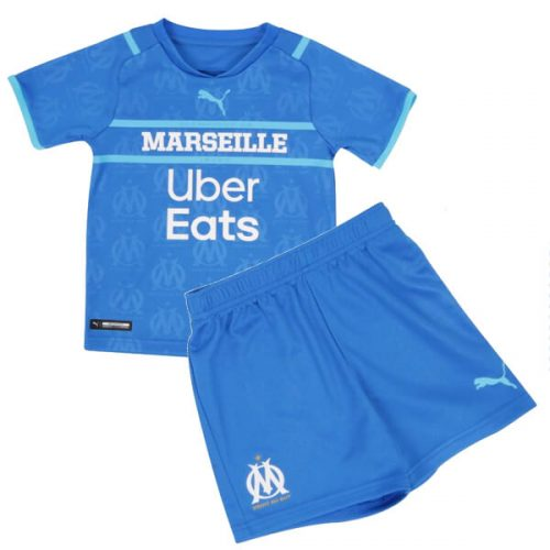 Olympique Marseille Third Kids Football Kit 21 22