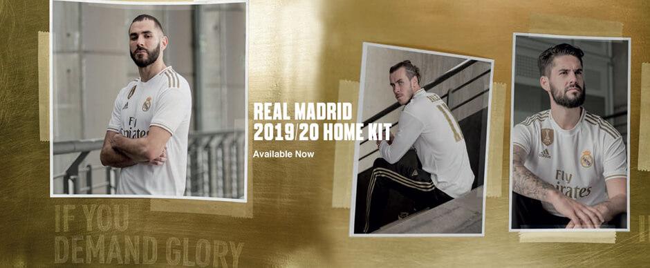 Real Madrid Home Football Shirt