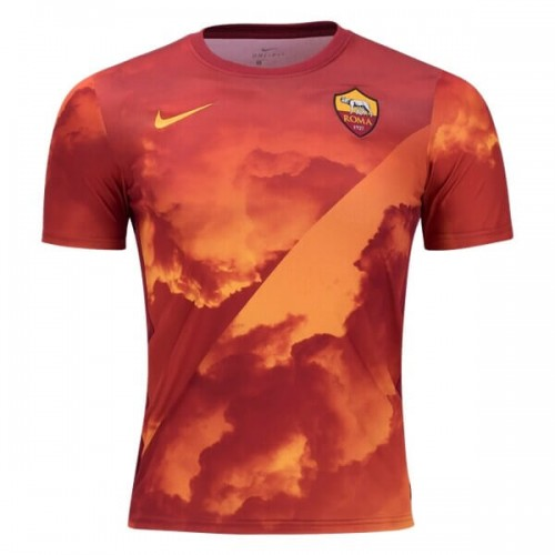 AS Roma Pre Match Soccer Jersey 19 20