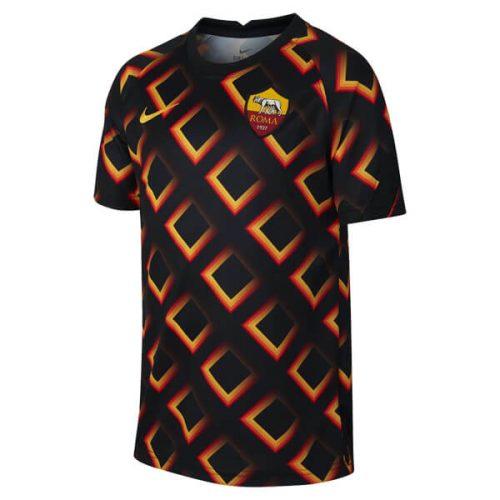 AS Roma Pre Match Training Football Shirt 20 21