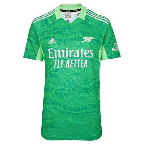 Arsenal Home Goalkeeper Football Shirt 21 22