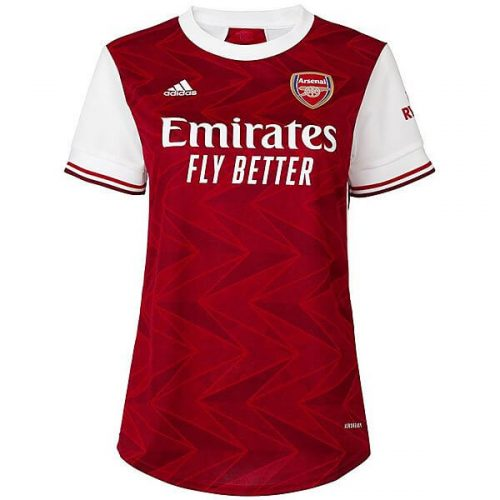 Arsenal Home Womens Football Shirt 20 21