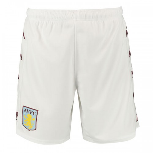 Aston Villa Home Football Shorts 19 20