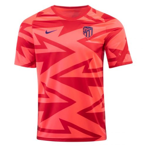Atletico Madrid Pre Match Training Football Shirt