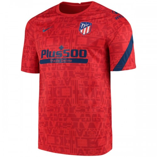 Atletico Madrid Pre Match Training Football Shirt