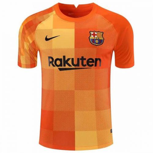 Barcelona Home Goalkeeper Football Shirt 21 22