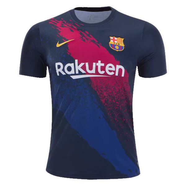 Barcelona Pre Match Soccer Jersey 19 20