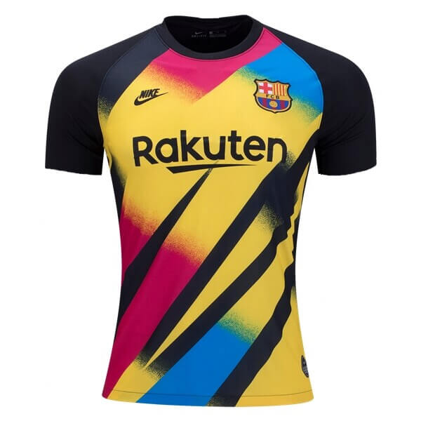 designer fashion 3070a 2b6ad Barcelona Third Goalkeeper Football Shirt 19/20