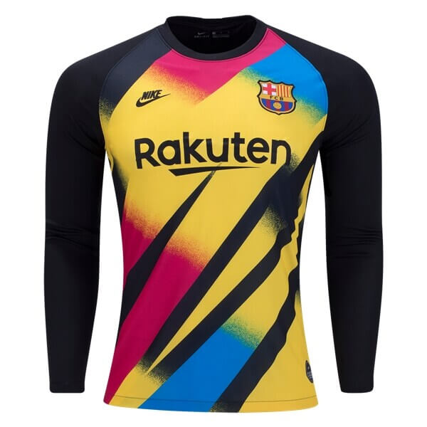 Barcelona Third Long Sleeve Goalkeeper Football Shirt 19/20