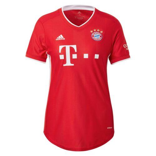 Bayern Munich Home Womens Football Shirt 20 21
