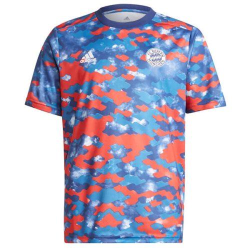Bayern Pre Match Training Football Shirt