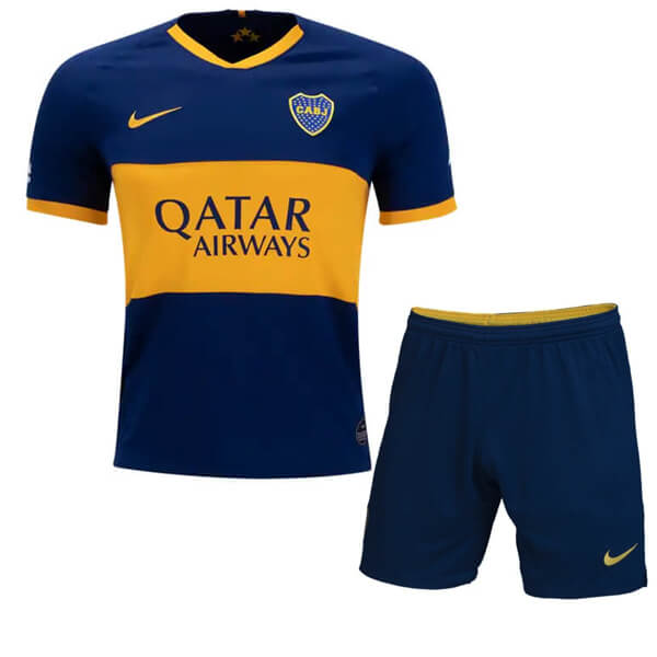 sale retailer dfce6 d6cd7 Boca Juniors Home Kids Soccer Kit 19/20