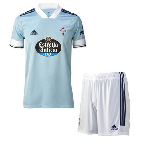 Celta Vigo Home Kids Football Kit 20 21