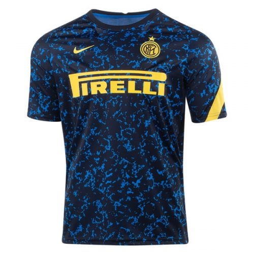 Inter Milan Pre Match Training Soccer Jersey
