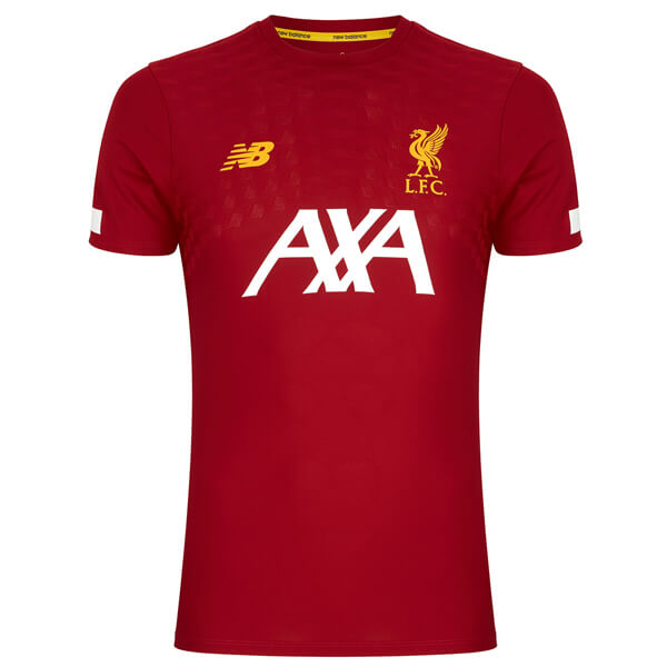 Liverpool Home Pre Match Soccer Jersey 1920