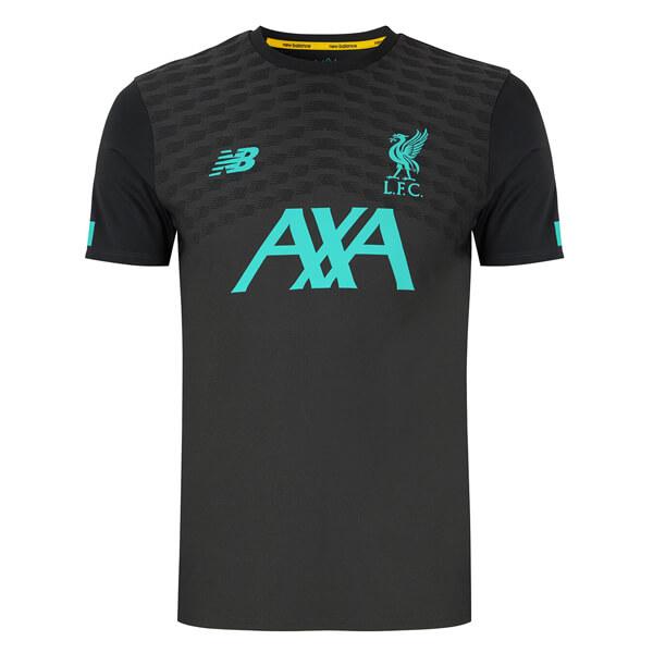 Liverpool Pre Match Soccer Jersey 19 20 - Black