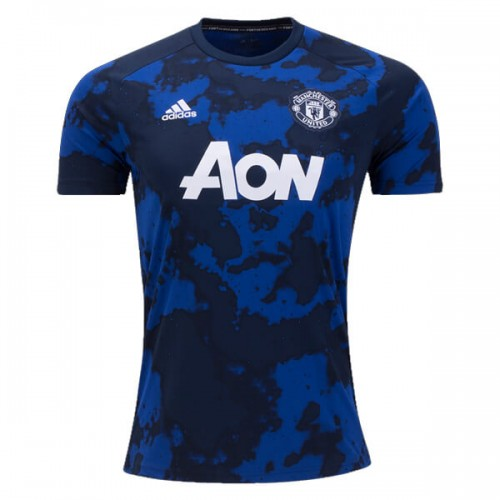 Manchester United Pre Match Soccer Jersey 19 20