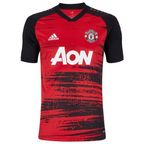 Manchester United Pre Match Training Football Shirt 20 21
