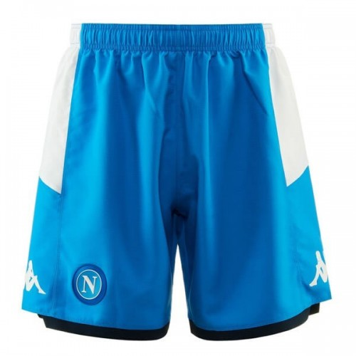 Napoli Blue Soccer Shorts 19 20