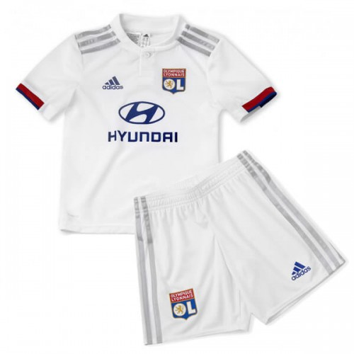 Olympique Lyon Home Kids Football Kit 19 20