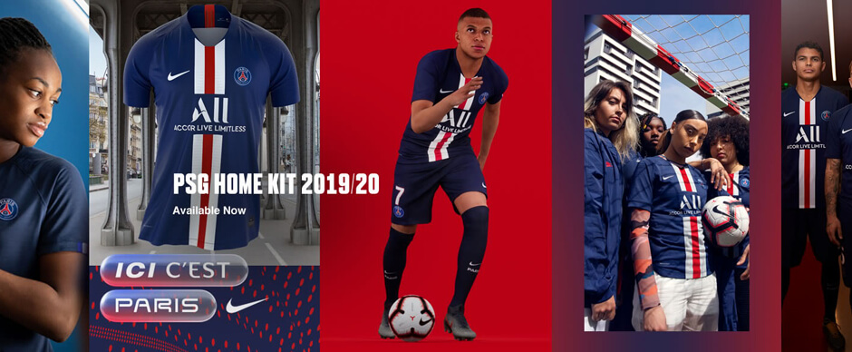 New PSG Home Kit 19 20