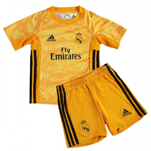 Real Madrid Home Kids Goalkeeper Kit 19 20