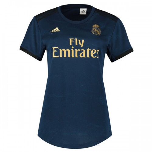 Real Madrid Womens Away Football Shirt 19 20