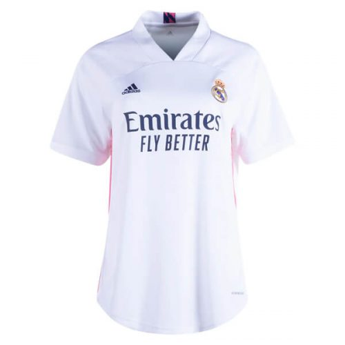 Real Madrid Womens Home Football Shirt 20 21