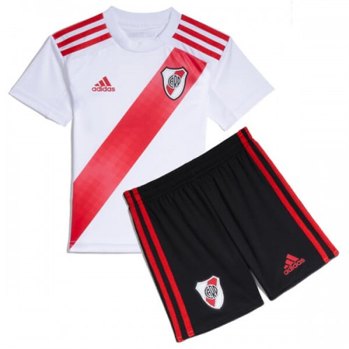 River Plate Home Kids Football Kit 19 20