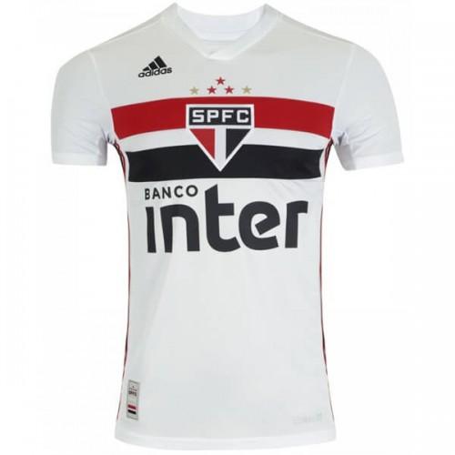Sao Paulo Home Soccer Jersey 19 20