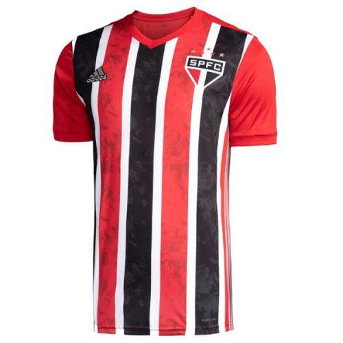 Sao Paulo Home Soccer Jersey 20 21