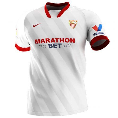 Sevilla Home Football Shirt 20 21