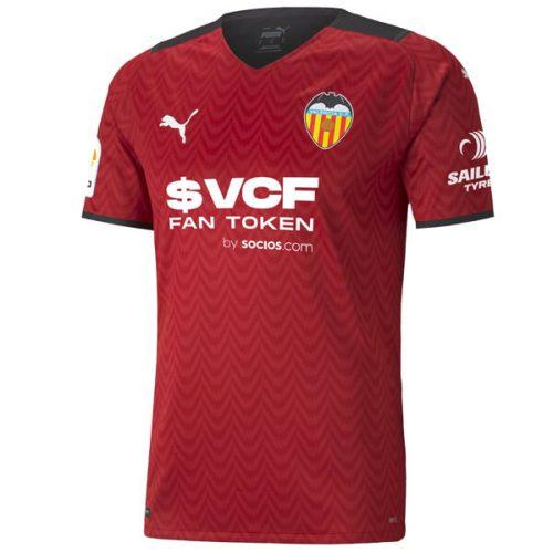 Valencia Away Football Shirt 21 22